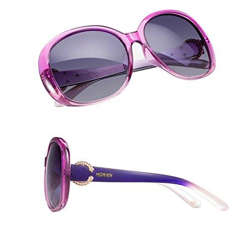lunettes soleil Mesdames cadre polarisées de grand Pink 70xdqwx