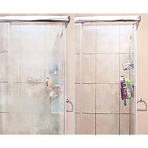 Bio Clean: Eco-Friendly Hard Water Stain Remover - shower door