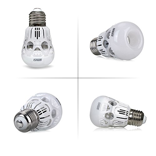 From USA u2605 Upgraded Sansi 40 Watts Equivalent LED Light Bulb, A15 LED Bulb, 500lm, 5000k ...