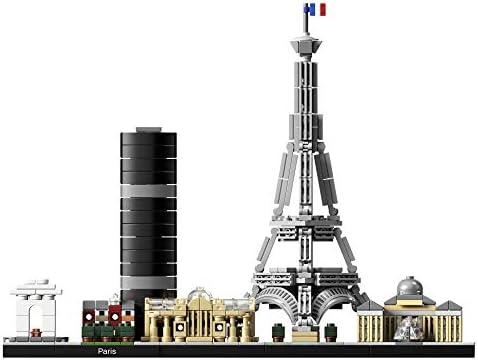 Lego Architecture París Maqueta Decorativa De Ciudad Para Construir Y Decorar 21044