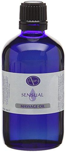 100ml SENSUAL Massage Oil by Aura Essential Oils