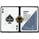 Copag Poker Size Regular Index - Pinochle Setup Playing Cards (Multi)