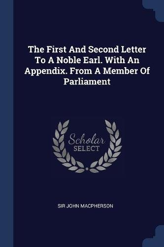 The First and Second Letter to a Noble Earl. with an for sale  Delivered anywhere in Canada