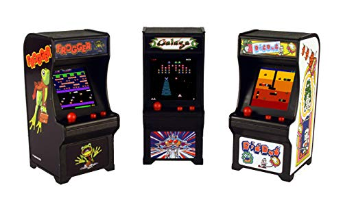 Tiny Arcade Set of 3 - Frogger Galaga Dig Dug, Multi for sale  Delivered anywhere in USA