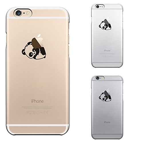 "CLEARAIN For iPhone 6 6s 4.7"" Lovey Animal series 0.3mm Ultra Thin Clear Hard Case (Naughty Panda)"