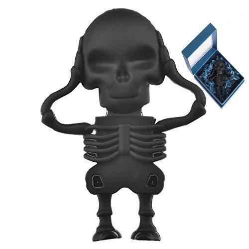 Cute USB Flash Drive 64GB, Aretop USB2.0 Cute Cartoon Miniature Skeleton Shape USB Memory Stick Pendrive for Computer 64GB Thumb Drive USB Jump Drive Data Storage Business Gift for Girls Kids Present