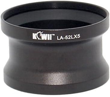 Adaptateur Tubus LX5 52 mm Compatible avec Les mod/èles Panasonic Filter Adaptertubus