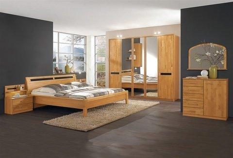 Wiemann Wiemann Schlafzimmer Set Korsika 4 Tlg Natur Schubladen