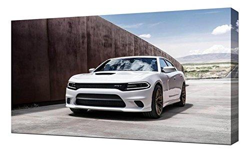 Lilarama USA 2015 Dodge Charger Srt Hellcat 4 - Canvas Art Print - Wall Art - Canvas Wrap