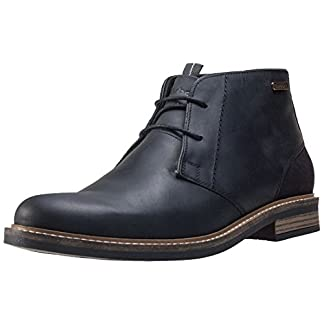Mens Barbour Readhead Office Smart Ankle Shoes Leather Chukka Boots 10