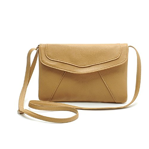 Khaki Messenger Cross Satchel Women Rcool Bags Bag Shoulder Vintage Shoulder Handbags Body Envelope Women Bag TwwZ6gvxq