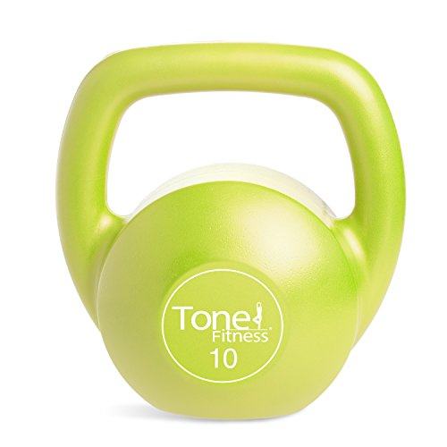 Kettlebell, Lime, 10-Pound