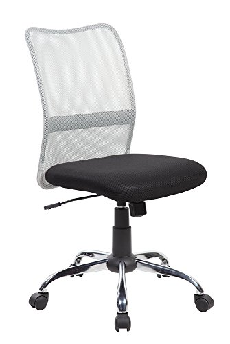 Eurostile Mid-Back Mesh Computer Chair Grey - 8134GR