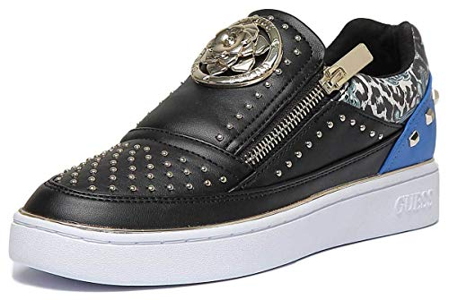 Ecopelle Ds19gu03 Beela Sneaker Nero Donna blu Bassa Scarpa Mod Guess  wXvnTqBX fff89cf54817