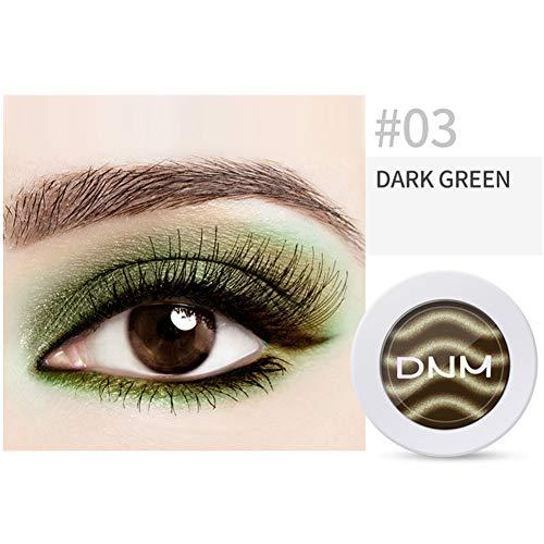 Kekailu Eyeshadow Magnetic Matte Powder Glitter Gradient Color Natural Naked Makeup - Dark Green ()
