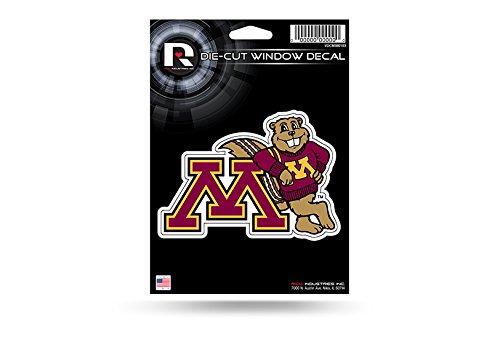 Rico Industries NCAA Minnesota Golden Gophers Die Cut Vinyl Decal, Multicolor, 5.75