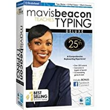 Mavis Beacon Teaches Typing Deluxe 25th Anniversary Edition