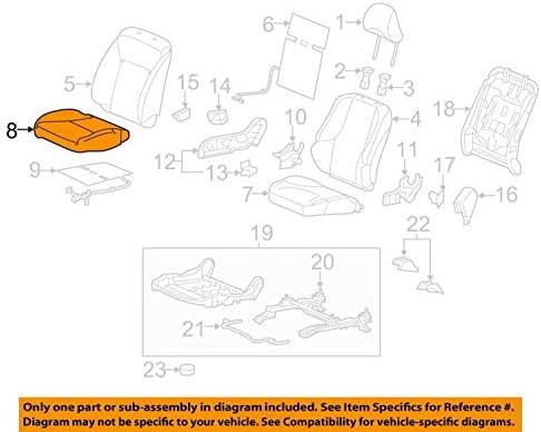 Honda Genuine 81131-T5R-A31ZA Seat Cushion Trim Cover Front Right