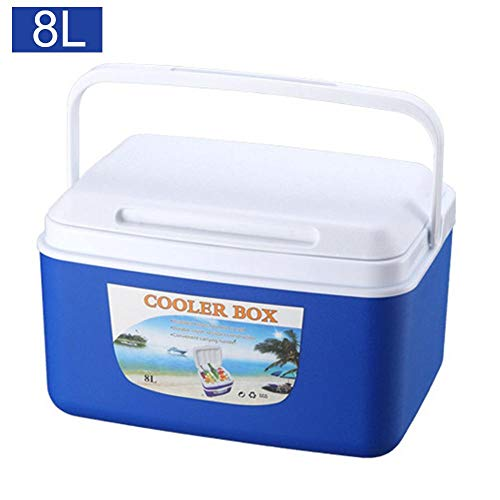 (Bulary 8L Outdoor Incubator Freezer,Portable Insulated and Leak Food Storage Box Car Cold Box Fishing Box Cooler)