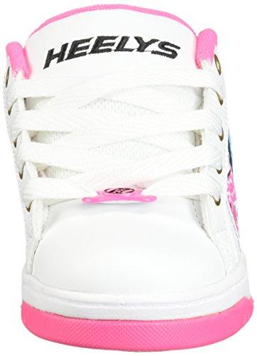 Heelys Split Schuh 2018 Cheer Patch Pink Bianco Hot ffrUn1q