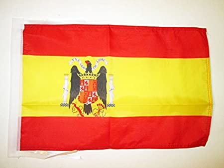 AZ FLAG Bandera de ESPAÑA DE Franco 45x30cm - BANDERINA FRANQUISTA ESPAÑOLA 30 x 45 cm cordeles: Amazon.es: Hogar