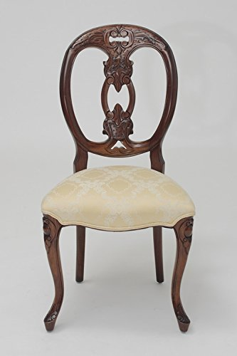 Cheap Laurel Crown French Medallion-Back Biola Chair