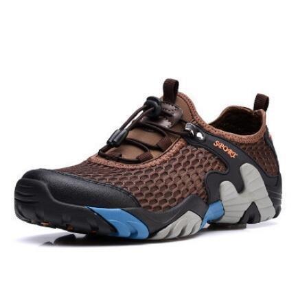 sportsZapatos Neto Zapatos Deportivos de de brown Escalada Tela Calzado de amp;HX Libre Aire Casual Netos Antideslizante al Zapatos Z Zapatos Zapatos gB805B