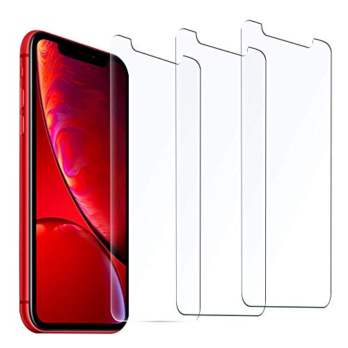Aslanda Screen Protector for iPhone Xs MAX Clear iPhone Xs MAX Tempered Glass Screen Protector 2018 with 9H Hardness 99.9% Transparency [13-Pack, White Box ] 6.5 inch Green