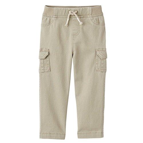 - Jumping Bean Skinny Rib Waist Cargo Pants, 2T