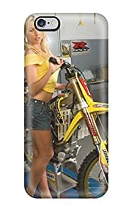 aqiloe diy 4765332K40899653 Awesome Design Girls And Motorcycles Hard Case Cover For Iphone 6 Plus