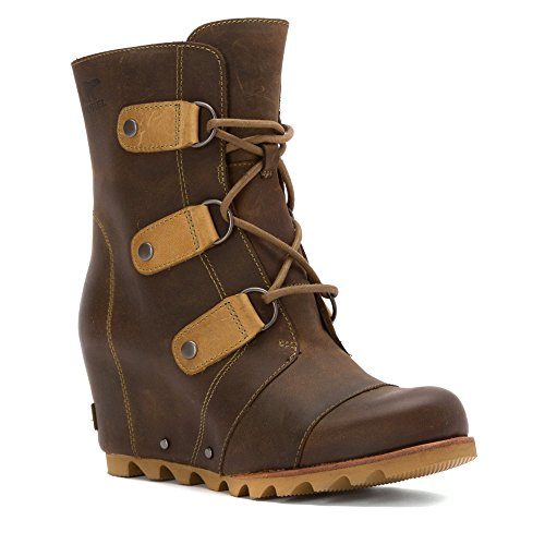 Wedge Boot Joan Mid 10 Wedge Sorel Size Cafe Arctic of Womens URqqwBp