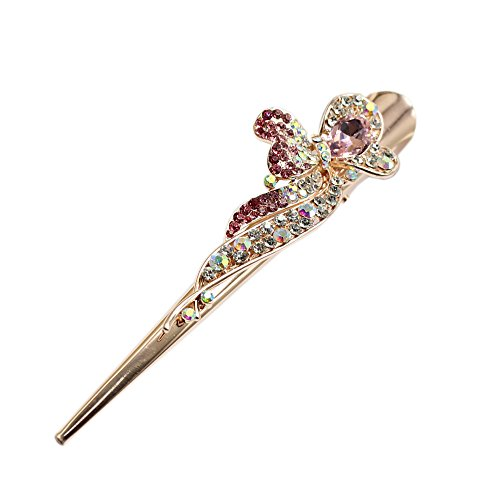 Alay&me Spark Rhinestone Hair Alligator - Crystal Alligator Clip