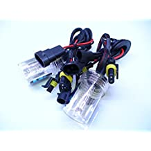 TWO H7 6000K Pure WHITE Xenon HID Replacement Light Bulbs
