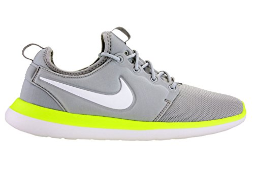 993f72049a8c Galleon - Nike Mens Roshe Two Running Shoes Wolf Grey White Volt 844656-007  Size 11.5