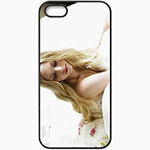 Personalized iPhone 5 5S Cell phone Case/Cover Skin Amanda Black