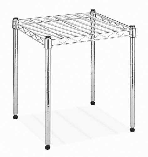 Whitmor Supreme Stacking Shelf and Organizer - Adjustable - Chrome by Whitmor (Image #1)