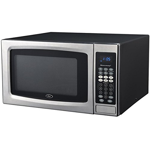 Oster OGZE1304S 1.3 Cubic Foot Black and Stainless Steel Digital Microwave Oven (Oster Compact Toaster Oven compare prices)