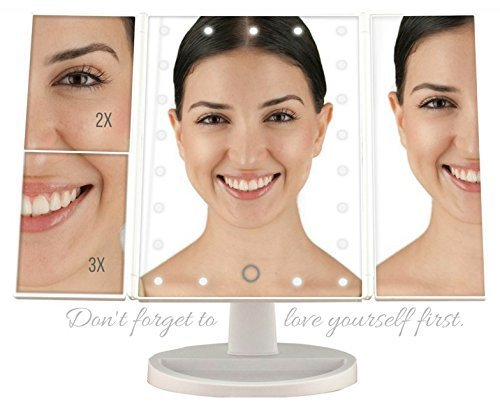 KAY-TEN Cosmetic Makeup Mirror with LED Lights