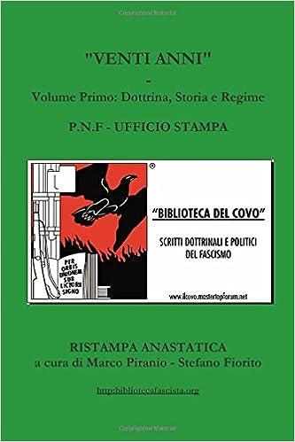 Buy Venti Anni -Volume Primo: Volume 1 Book Online at Low Prices in