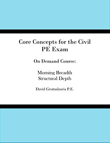 On-Demand Video Course for the Civil PE Exam Structural Depth