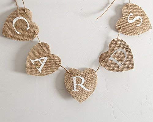 CTY Craft Love Cards Burlap Banner ()