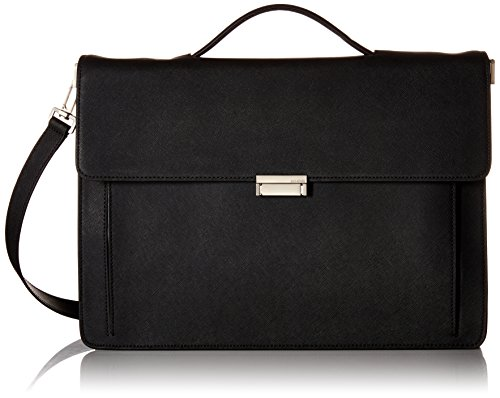 Jack Spade Men's Barrow Leather Top Handle Brief Briefcas...