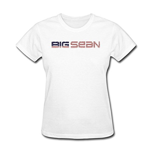 SAMJOSPHT Women's Big Sean USA Flag Logo T-shirt Size XXL