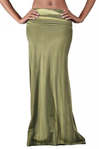 Palazzo Fashion Women's Jersey Knit Maxi Skirt S (Beaded Jersey Skirt)