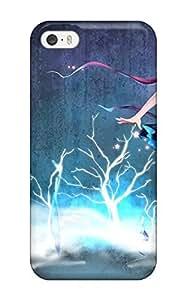 Best 6464416K600424253 blondes vocaloid blue tears shortcrying seeu Anime Pop Culture Hard Plastic iPhone 5/5s cases