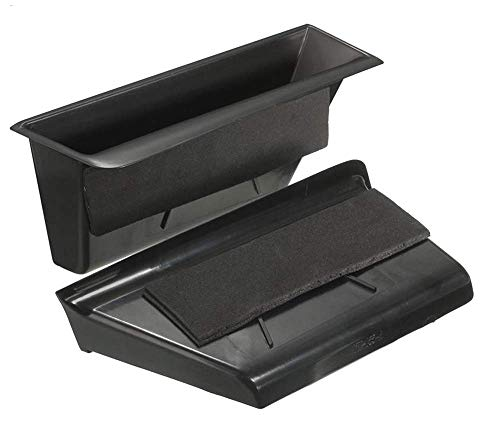 Salusy 2pcs Inner Front Door Armrest Storage Box Container Compatible for Mercedes Benz C Class W204 2008-2013 C180 C200 C220 2008-2013