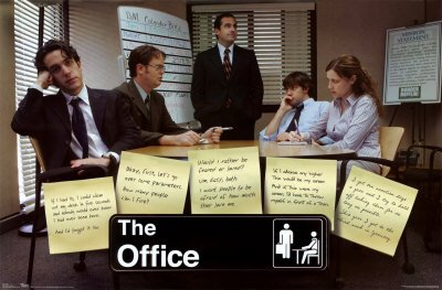 the office posters. The Office Group Post It Notes Workplace Comedy TV Television Show Poster Print 24 By 36 Posters R