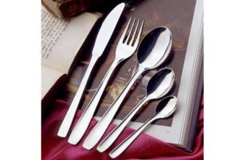 Gnali Hotel Lucida 6 Pieces Moka Spoons With Expositor ()