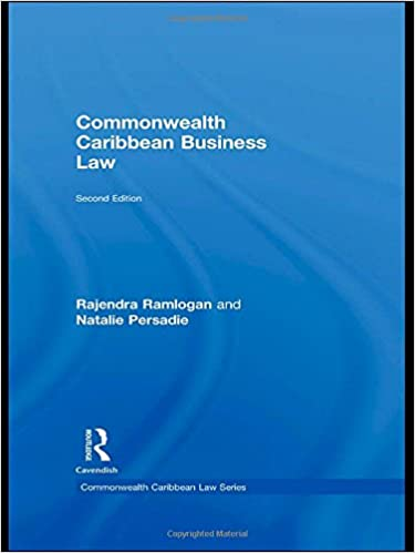 Commonwealth Caribbean Business Law (Commonwealth Caribbean Law)