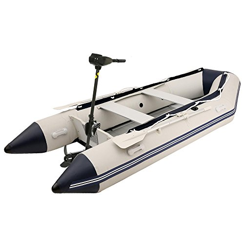 12V 46-Pound Thrust Saltwater Transom Mounted Electric Trolling Motor Hand Control